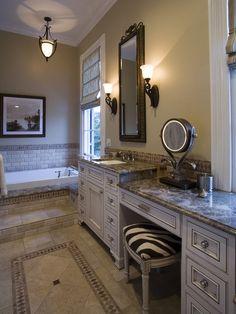 For the home on pinterest fleur de lis bathroom for Bathroom renovation new orleans