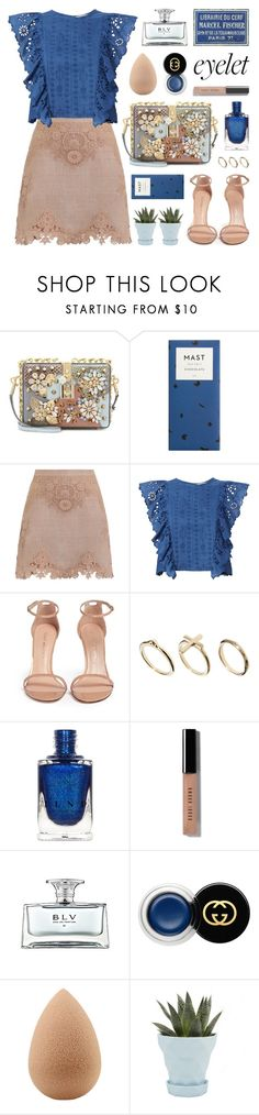 """join our new contest (view description)"" by jesuisunlapin ❤ liked on Polyvore featuring Dolce&Gabbana, Zimmermann, F, Sea, New York, Stuart Weitzman, DesignSix, Bobbi Brown Cosmetics, Bulgari, Gucci and beautyblender"