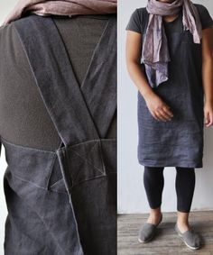 bookhou at home :: linen apron/smock/uniform