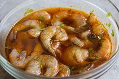 pork kabobs on the grill & pork kabobs on the grill & pork kabobs on the grill marinade & pork kabobs on the grill bbq skewers Best Shrimp Marinade Recipe, Shrimp Recipes, Meat Recipes, Healthy Dinner Recipes, Grilled Recipes, Easy Potato Recipes, Potatoe Casserole Recipes, Ribs On Grill, Pork Ribs