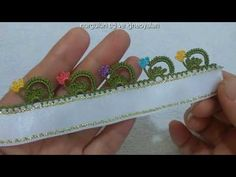 Creative Embroidery, Crochet Flowers, Badge, Youtube, Model, Crochet Decoration, Tricot, Tejidos