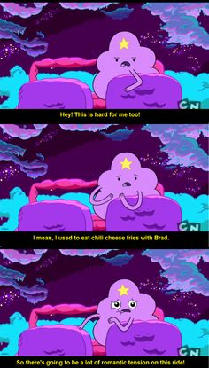 Adventure Time - Lumpy Space Princess - Chili Cheese Fries