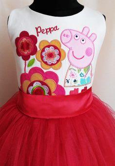 ab60bb647b5a Rainbow Dash Dress, My Little Pony Birthday Dress, Tulle dress, Pony tulle  dress, Handmade dress, Peppa Pig Party
