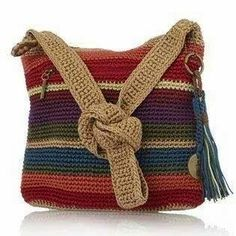 only for inspiration -  andrea croche: bolsas de croche