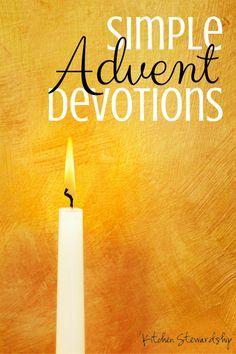 Advent Devotions