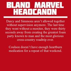 These headcanons are not bland, they are glorious!