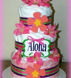 luau cakes for adults | luau cake i got the chance to make one enjoyed making this