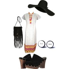 A fashion look from February 2015 featuring UGG Australia clogs and River Island shoulder bags. Browse and shop related looks.