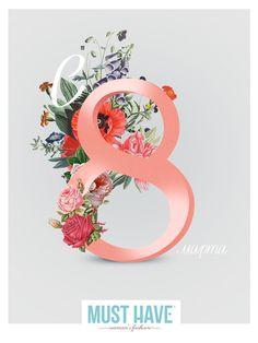 8 march post card flower 8 марта цветы открытка