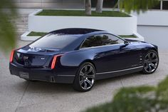 Cadillac used the Pebble Beach weekend to take the wraps off the Elmiraj Concept, a full-size, four passenger coupe designed to showcase what Cadillac sees as another potential segment for the brand.