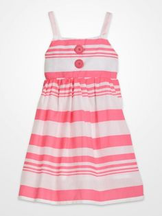 Girls Yellow Smocked Floral Dress #kids #summer | Girls Summer ...