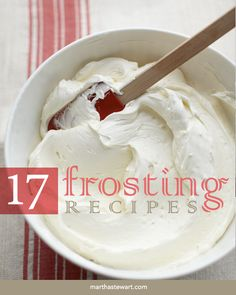 Our 17 BEST Frostings
