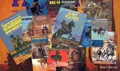 Après avoir appris la mort de Jean Giraud, j'ai passé une bonne partie de ma soirée de samedi à lire les hommages rendus des deux côtés de l'Atlantique à ce géant de la bande dessinée, et surtout à me replonger dans ma collection personnelle, de souvenirs et d'albums de Blueberry.