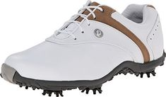 FootJoy Womens LoPro Golf Shoes 97173 WhiteTaupe Ladies 8 NARROW *** You can find more details by visiting the image link.(This is an Amazon affiliate link and I receive a commission for the sales)