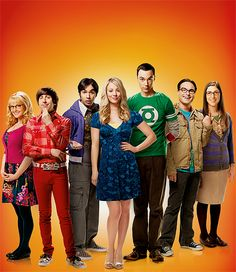 Big Bang theory, the whole cast! - can't think of any group of people I'd rather hang out with xD