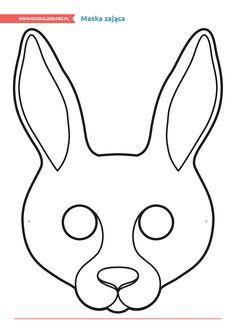 Maska zająca http://www.ekokalendarz.pl/miedzynarodowy-dzien-strazaka-pakiet-edukacyjny/