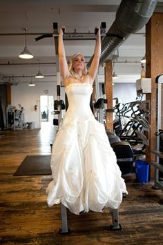 An 8-week Bridal workout. Considering my wedding is in 6 weeks I would say I'm behind