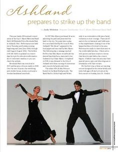 Heart of Ohio - May/Jun 2012    Co-Founders of Neos Dance Theatre, Brooke and Bobby Wesner, appear in the current edition of Heart of Ohio