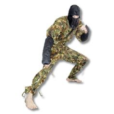 Check out the Camouflage Ninja Uniform at www.karatemart.com