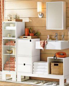 El baño es un sector de la casa que necesita organización. Una buena decoración se acompaña por un lugar organizado logrando el equilibrio deseado. ...