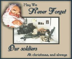 santa and soldier picture - Google Search