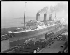 RMS Majestic in Boston