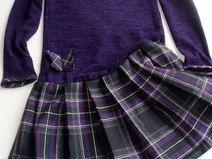 Mädchen Kleid im Mama- Look
