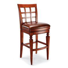 "Napa Swivel Bar Height Bar Stool (30""H seat)"