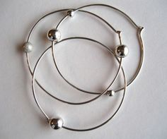 Apa Design sterling silver Atomic Orbit Bangles