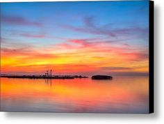 Grass Islands Of The Gulf Canvas Print / Canvas Art By Marvin Spates