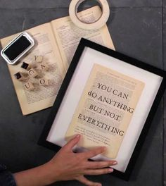 How to Create Easy Inspirational Wall Art....This is something I need to remind myself!