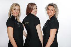 spa a clinic, uniform, tunic, black tunic, fashion to work Black Tunic, Clinic, Spa, T Shirts For Women, Model, Fashion, Moda, Fashion Styles