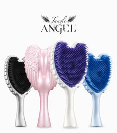 Hair Brushes & Combs for sale Detangling Hair Brush, Detangle Hair, Glam Room, Neck Massage, Christmas Gifts For Kids, Girly Things, Girly Stuff, Cherub, Cute Hairstyles