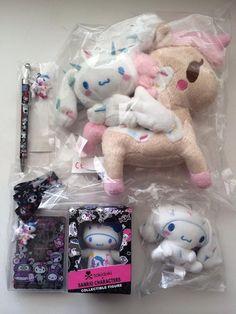 Tokidoki X Sanrio Cinnamoroll Plush Figure Pen lanyard Set New - US $99.99 HKD 776.46 Shipping: $34.99 USPS Priority Mail International