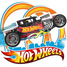 Endless tracks and obstacle courses await every Hot Wheel's car lover as they discover the world of physical science. Momentum, force, and friction are just some of the concepts they will Hot Wheels Birthday, Hot Wheels Party, Festa Monster Truck, Monster Trucks, Taco Wheel, Anniversaire Hotwheels, Imprimibles Hot Wheels, Bolo Hot Wheels, Voitures Hot Wheels