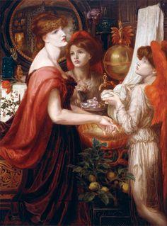 Dante Gabriel Rossetti - La Bella Mano ( Alexa Wilding als Frau und Mary Morris als Engel)