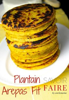 Savoir Faire: Plantain Arepas-Fit with Panela Cheese (Recipe and...
