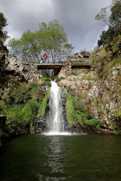 Portuguese Culture, Visit Portugal, Lisbon, Natural Beauty, Places To Go, Waterfall, Landscapes, Scenery, Traveling