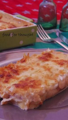 food for thought Greek Cooking, Cooking Time, Cookbook Recipes, Cooking Recipes, Party Buffet, Greek Recipes, Crepes, Food For Thought, Macaroni And Cheese