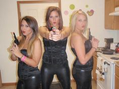 Homemade Halloween costumes for charlie angels | Charlies Angels and T.Y. Beanie Babies!