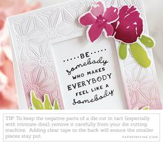 Die Negative Parts Tip Simply Stamps, Dark Colors, Absolutely Gorgeous, Cardmaking, Sponging, Butterfly, Ink, Floral, Nature