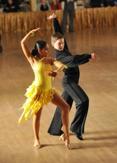 Ballroom/latin dance - passo doble kids dance sport