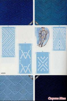 knitting pattern II TOYOTA