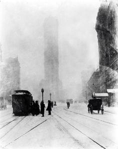 New York.....winter 1905
