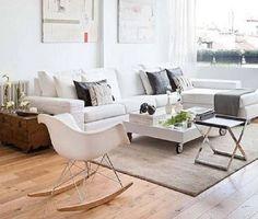 muebles salon blanco - Buscar con Google