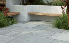 Marshalls do some reasonably priced stone paving