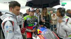 British GP Race - Gridwalk Stefan Bradl