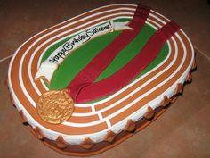 Running track cake | Flickr - Photo Sharing!
