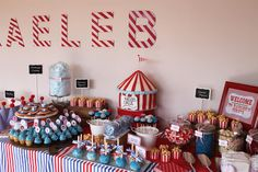 Love this candy table!!!!!!