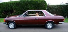 1985 - Mercedes Benz 230 CE Pillarless Coupe.